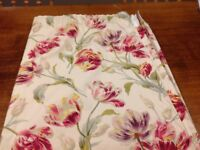 Laura Ashley Gosford Cranberry curtains and cushions
