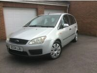 2004 (54) FORD FOCUS CMAX 1.6 TDCI LX IN SILVER