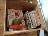 Job lot of Genealogy magazines ( over 80 )