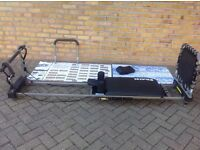 Pilates exerciser. As new. Hardly ever used. All instructions and exercise programmes included.