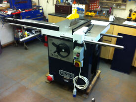 Sedgwick TA315 Table Saw with Rolling Table 240v 16amp