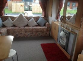 3 bedroom caravan for Hire on the Lighthouse Caravan Park in Southerness Dumfries hospital