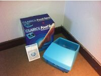CLAIROL FOOT SPA. PERFECT CONDITION.