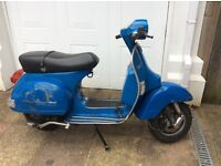 Vespa px125 project delivery px no documents