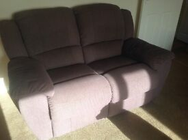 2 x sofas - one two seater and one three seater.