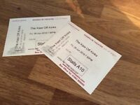 SHANKLIN THEATRE - Pair front row tickets KAST OFF KINKS