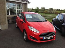 Ford Fiesta Zetec Diesel 2013 36000 miles as new condition!