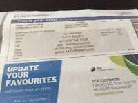 KATY PERRY TICKET