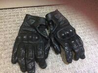 Revitt leather ladies motorbike gloves