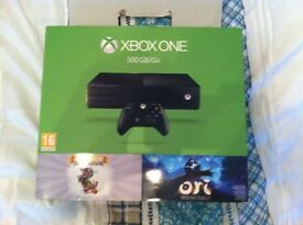Xbox one immaculate ondition