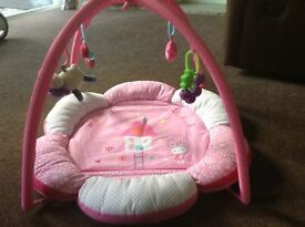 Mothercare baby play mat with arch
