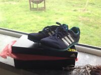 adidas kids track and field spikes, size 3.5