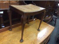 Vintage dressing table stool