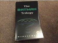 The Batman Trilogy Video Box Set