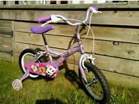 """Girls bike approx 10"""" like new"""