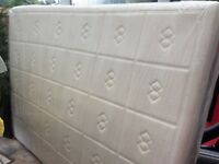Kingsize mattress / used but immaculate