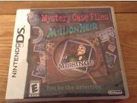 Mystery Case File Millionheir Nintendo DS Game