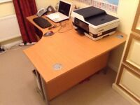 Height adjustable desk. Great condition. Ideal for home office/ crafting. Open to reasonable offers.