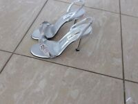 Jimmy Choo Swarovski Crystal Sandals - Only Worn once in Excellent Condition - Size 5