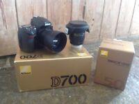 Nikon D700 and Lenses