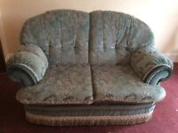 2 seater mint sofa H37