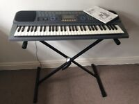 Casio CTK601 Electronic Keyboard - Plus stand - Pristine Cond