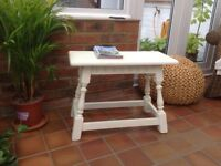 For Sale. white chalk painted coffee table