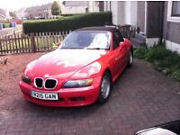 B m w z3 sports car good condition mot october