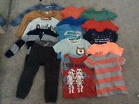 Boys size 3-4 used clothes bundle