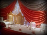 Nigerian Wedding Caterer £13pp Throne Chair Hire £199 Royal Chair Rent Rose Gold Cutlery Cylinder