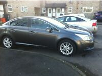 2010 automatic toyota avensis for sale , petrol ,low millage sat nerve with Bluetooth , USB .