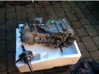 Pitbike yx140 cc engine