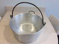 Aluminium Preserving Pan - ideal for marmalade making