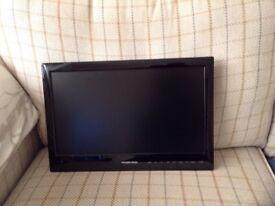 "Vision Plus Portable LED TV & DVD Player 18.5"" screen."
