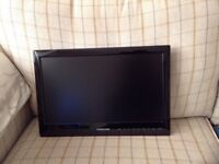 "Vision Plus Portable LED TV & DVD Player 18.5"" screen."
