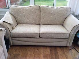 sofas x 2 beige in excellent condition