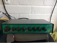 Joe meek pre amp compressor MQ3