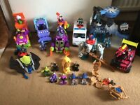 Imaginext vehicles and figures