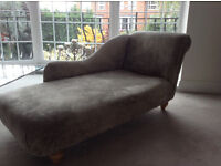 Chaise Longue - Really gorgeous with Laura Ashley Fabric **Delivery**
