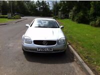 Mercedes 230 SLK excellent condition, reliable, future classic well maintained