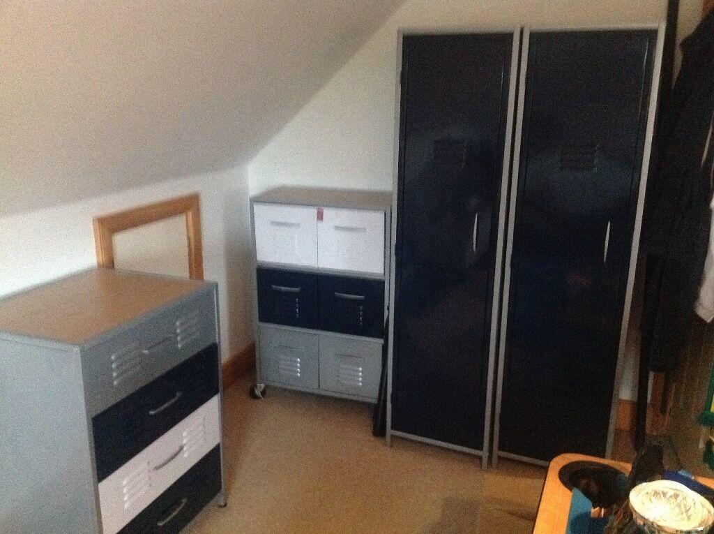 Bedroom Furniture Locker Room Style