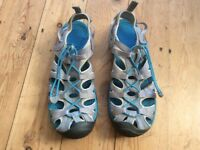 Keen Ladies Closed Toe Walking Sandals - UK size 7