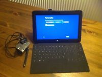 Surface tablet with detachable touch pad, charger, pen and case