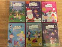 Fantastic Ben And Holly's Little Kingdom Bundle! 6 X DVDs. A fab Xmas present.