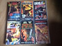 Various Martial Arts/Kung Fu VHS/Video Tapes For Sale