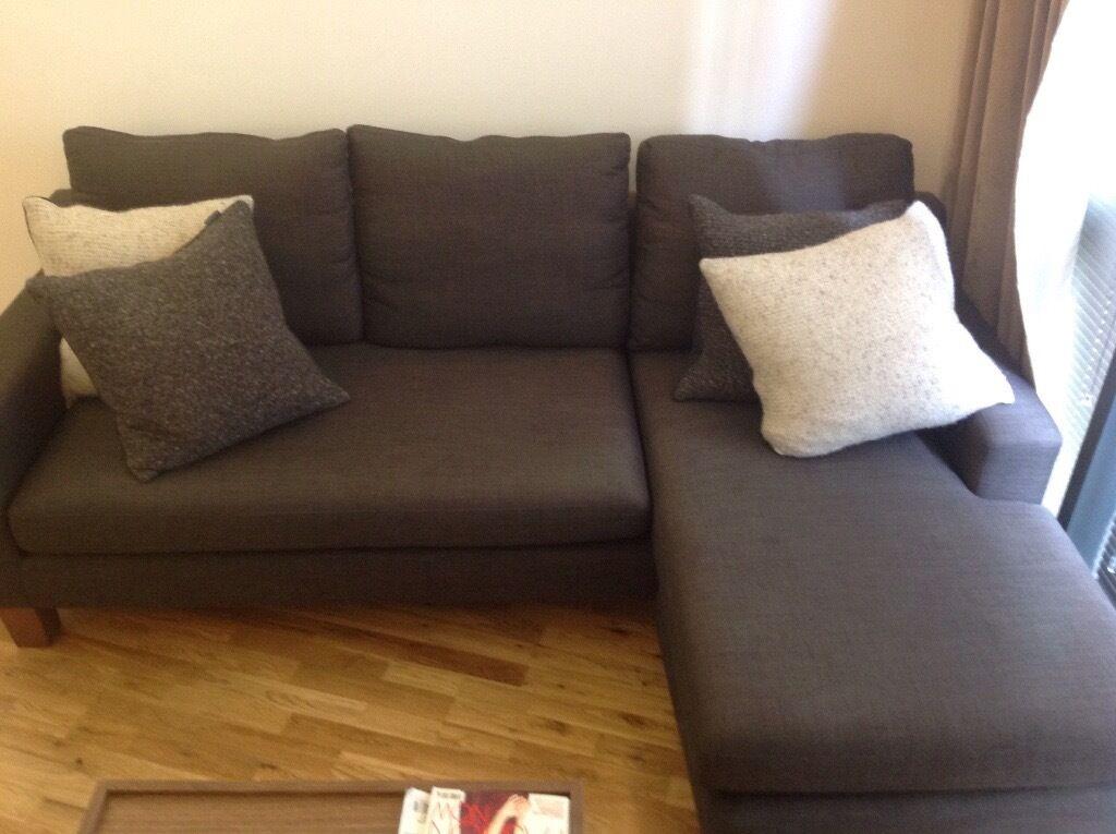 6m old dwell ankara reversible corner sofa originally 899
