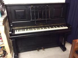 Witton & Witton Overstrung Upright Piano - DELIVERY AVAILABLE