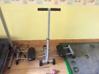 York Treadmill plus leg magic leg toner