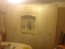 Freestanding bedroom furniture