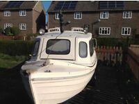 Orkney longliner fishing boat
